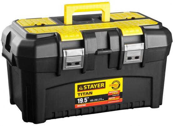 """Ящик для инструмента Stayer Master 19"""" пластиковый 38016-19 цены"""