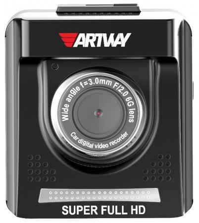 цена на Видеорегистратор Artway AV-710 2 2560x1080 150° microSD microSDHC