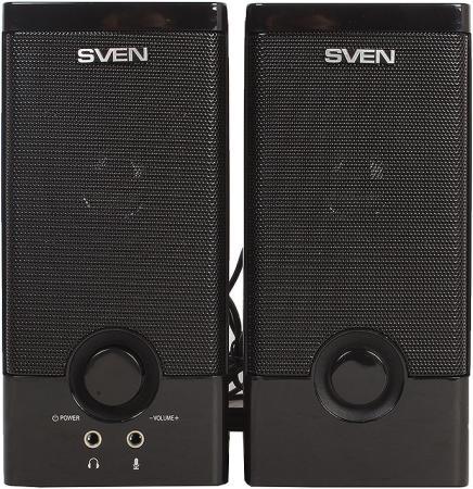 Колонки Sven SPS-603 2х3 Вт черный