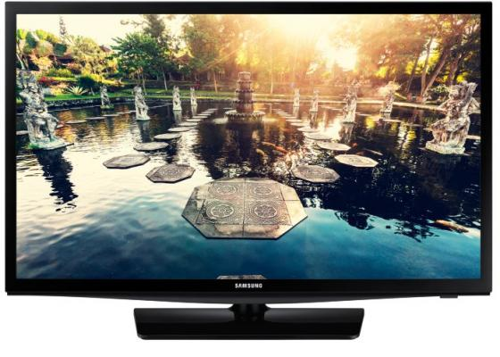 Телевизор LED 24 Samsung HG24EE690 черный 1366x768 Wi-Fi Smart TV USB RJ-45 VGA монитор philips 246v5lsb
