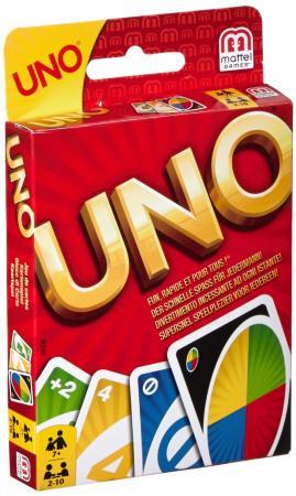 Настольная игра логическая MATTEL UNO W2087 uno настольные игры карточная игра uno друзья семья картон мальчики подарок