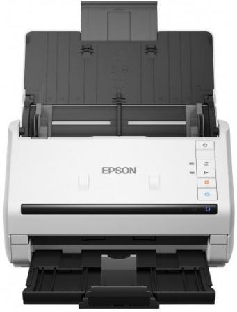 Сканер Epson WorkForce DS-530 протяжный CIS 600x600dpi B11B226401 epson workforce ds 50000