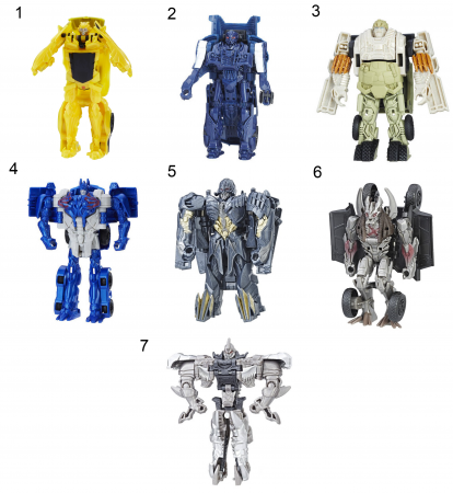 Игрушка Transformers Трансформеры 5: Последний рыцарь - Уан-Степ ассортимент, C0884 hasbro transformers c0889 c1328 трансформеры 5 последний рыцарь легион гримлок