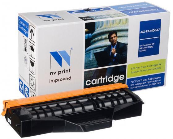Фото - Картридж NV-Print KX-FAT400A7 для Panasonic KX-MB1500RU/1520RU/1530RU/1536RU черный 1800стр картридж nv print kx fat411a kx fat411a kx fat411a kx fat411a для для panasonic kx fa t 411a 2000стр черный