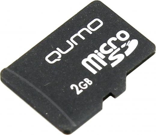 Карта памяти Micro SDHC 2Gb QUMO QM2GMICSDNA карта памяти sdhc micro sony sr 32uya