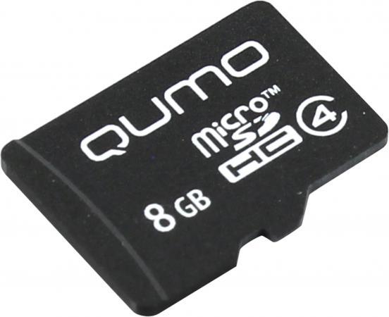 Карта памяти Micro SDHC 8Gb class 4 QUMO QM8GMICSDHC4NA qumo quest 410