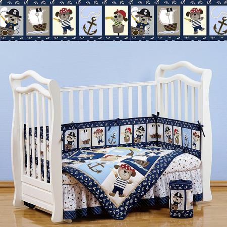 Постельный сет 7 предметов 120х60см Giovanni Shapito (piratic) постельный сет 7 предметов 120х60см giovanni shapito bonny bunny