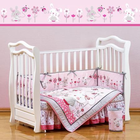 Постельный сет 7 предметов 120х60см Giovanni Shapito (bonny bunny) постельный сет 7 предметов 120х60см giovanni shapito bonny bunny
