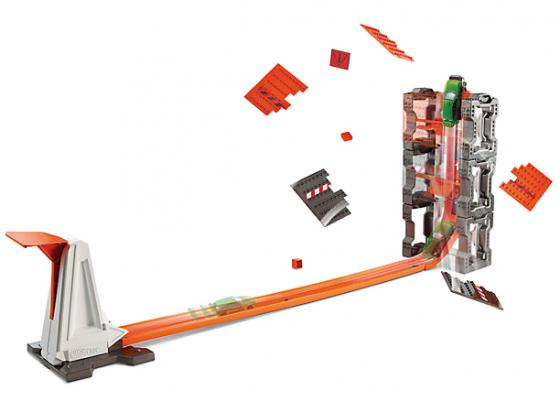 Игровой набор Hot wheels конструктор трасс: взрывной набор corpa игровой набор юного механика hot wheels большой