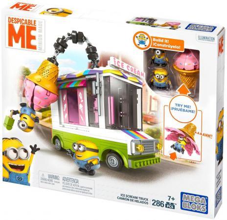 Конструктор MEGA BLOKS Фургончик с мороженым 286 элементов