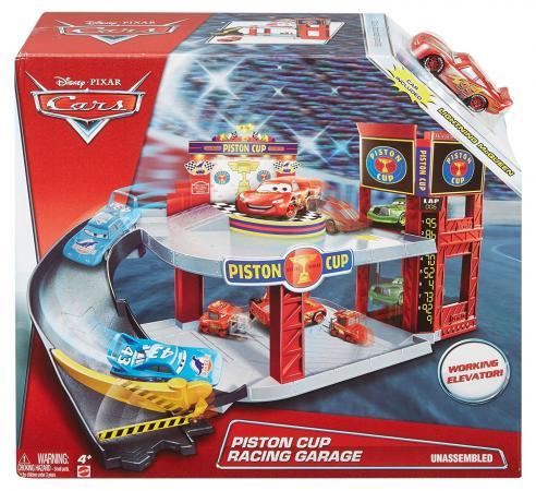 Игровой набор MATTEL Тачки - Большой гараж DWB90 игровые наборы mattel форсаж игровой набор