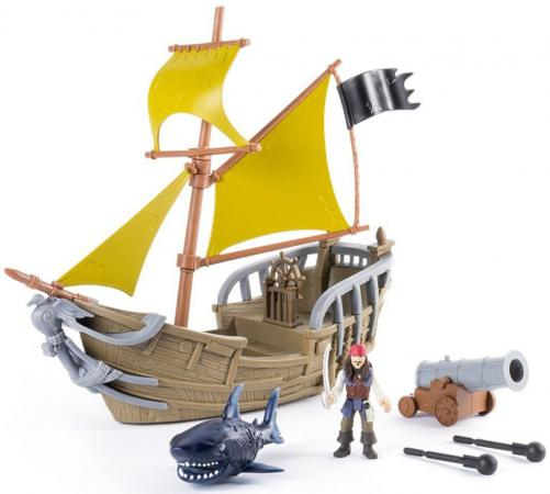 Игровой набор Pirates of Caribbean Пираты Карибского моря - Корабль Джека Воробья 73112 pirates of the caribbean metalbeard sea cow ship building block model minifigures mech robot compatible with legoes 70810 toys