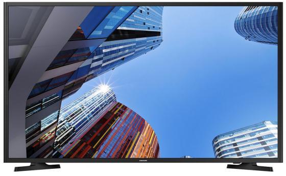 Телевизор LED 40 Samsung UE40M5000AUX черный 1920x1080 200 Гц USB led телевизор samsung ue40j5200