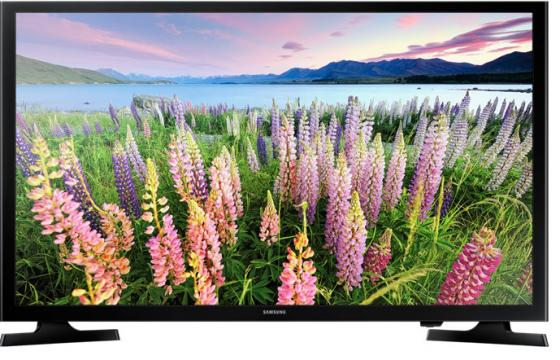 Телевизор LED 49 Samsung UE49J5300AUX черный 1920x1080 Wi-Fi Smart TV USB RJ-45 led телевизор samsung ue75mu8000