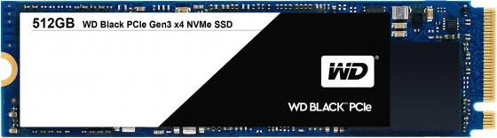 Твердотельный накопитель SSD M.2 512Gb Western Digital Black Read 2050Mb/s Write 800Mb/s PCI-E WDS512G1X0C накопитель ssd a data adata ultimate su800 512gb asu800ss 512gt c