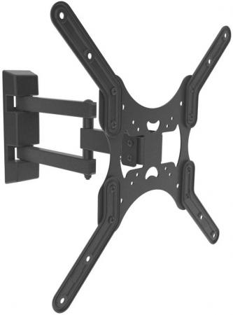 Кронштейн Digis DSM-8043 черный 23-55 2 колена VESA 400х400мм до 35кг аксессуар panasonic wes9064y1361 нож для 8078 8043