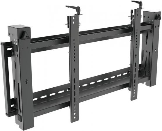 цена на Кронштейн Digis DSM-P0380 черный для видеостен 43-70 VESA 600х400мм до 70кг