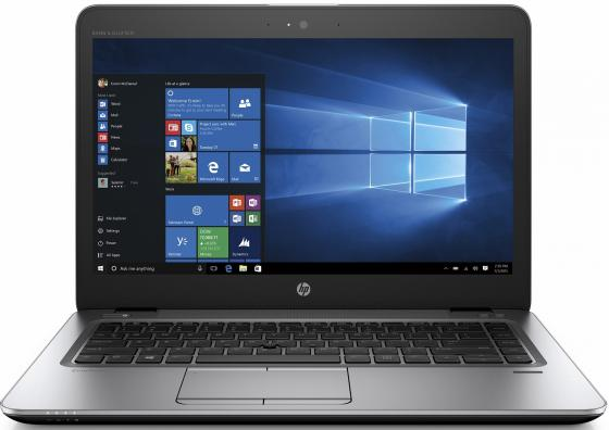 Ноутбук HP Elitebook 840 G4 14 1920x1080 Intel Core i7-6500U 1 Tb 8Gb Intel HD Graphics 520 серебристый Windows 7 Professional 1EM63EA ноутбук и windows 7