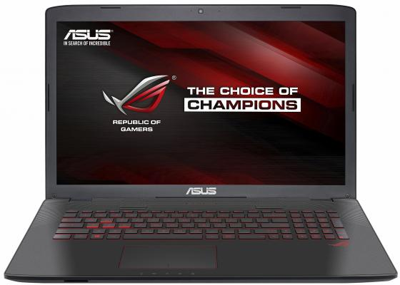 ASUS ROG GL752VL-T4027T Intel Core i7 6700HQ/8GB/1TB HDD/17.3 FHD AG/NV GTX965 2GB GDDR5/Camera/Wi-Fi/Windows 10 /Illuminated KB/3.5Kg 90NB0BX2-M00310 ноутбук asus k501ux dm201t bts 15 6 intel core i5 6200u 2 3ghz 8gb 1tb hdd 90nb0a62 m03360