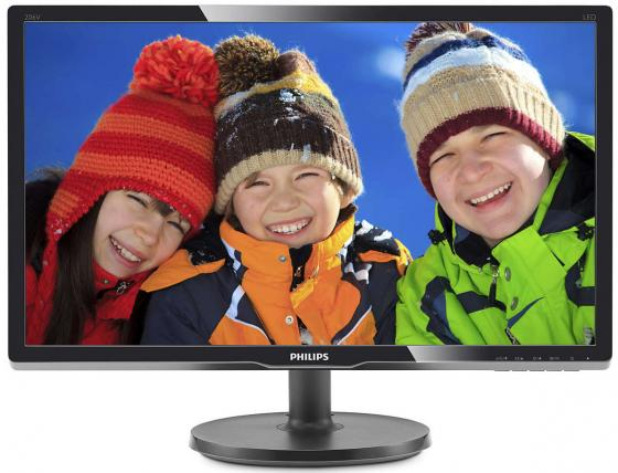 Монитор 19 Philips 206V6QSB6/62 черный AH-IPS 1440x900 250 cd/m^2 14 ms VGA монитор 19 philips 206v6qsb6 62