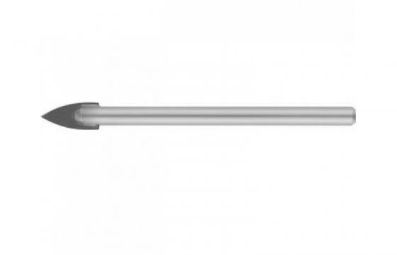 Сверло Stayer Master по керамике и стеклу с двумя режущими лезвиями d=6 мм 2986-06 сверло по плитке stayer master 2986 05 с двумя режущими лезвиями d5мм