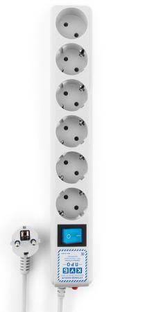 Удлинитель Power Cube SPL(5+1)-16B-P-1,9M 6 розеток 1.9 м белый цена