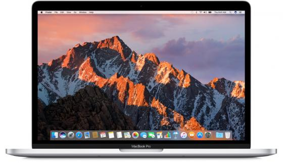 Ноутбук Apple MacBook Pro 13.3 2560x1600 Intel Core i5 128 Gb 8Gb Iris Plus Graphics 640 серебристый macOS MPXR2RU/A