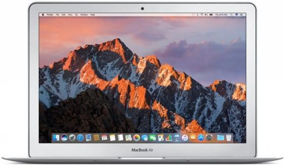 Ноутбук Apple MacBook Air 13.3 1440x900 Intel Core i5 128 Gb 8Gb Intel HD Graphics 6000 черный macOS MQD32RU/A ноутбук apple macbook air 11 mjvm2ru a