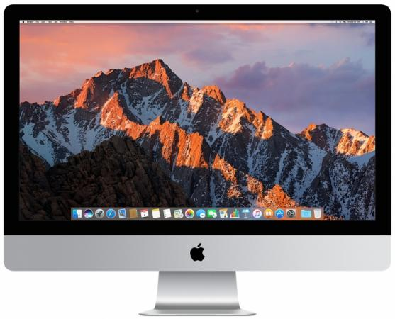 Моноблок 27 Apple iMac 5120 x 2880 Intel Core i5-7600K 8Gb 2Tb AMD Radeon Pro 580 8192 Мб macOS серебристый MNED2RU/A apple imac 21 5