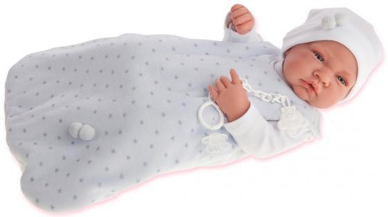 Кукла-младенец Munecas Antonio Juan Кармело в голубом 42 см — 5001B кукла munecas antonio juan белла в шляпке блондинка 45 см 2808p