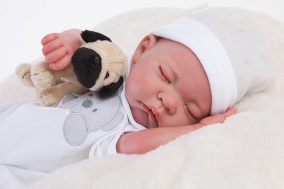 Кукла-младенец Munecas Antonio Juan Реборн - Рамон 40 см спящий, 8108