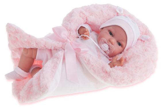 Кукла Munecas Antonio Juan Вита 34 см со звуком в розовом 7030P кукла antonio juan кукла вита pink 7030p