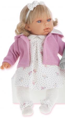 Кукла Munecas Antonio Juan Лорена в розовом 37 см со звуком 1559P munecas antonio juan кукла лучия в розовом 37 см munecas antonio juan