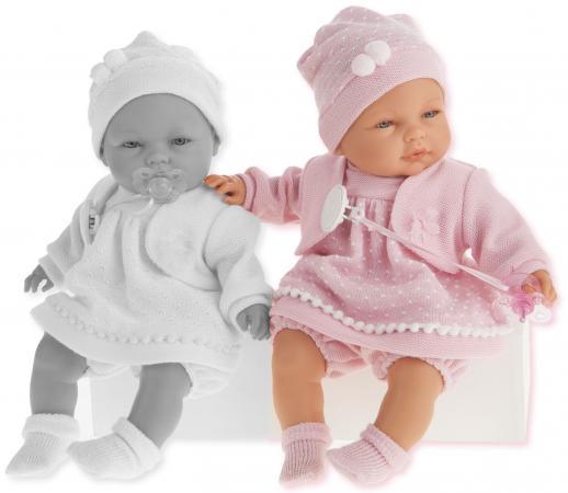 Кукла Munecas Antonio Juan Соня в ярко-розовом 37 см плачущая 1443V