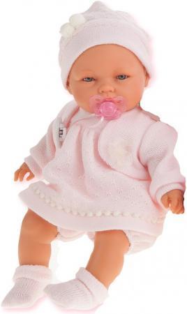 Кукла Munecas Antonio Juan Соня в розовом 37 см плачущая 1443P кукла munecas antonio juan соня в ярко розовом 37 см плачущая 1443v