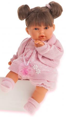 Кукла Munecas Antonio Juan Брюнетка Лана 27 см плачущая 1112Br кукла munecas antonio juan белла первое причастие брюнетка в кремовом 2800br
