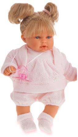 Кукла Munecas Antonio Juan Блондинка Лана 27 см плачущая 1112Bl