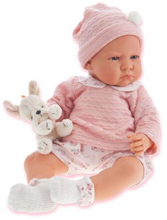 Кукла Munecas Antonio Juan Бернардита 52 см со звуком в розовом 1952P munecas antonio juan озвученная 34 см