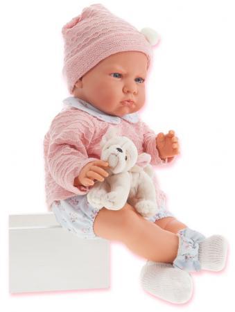 Кукла Munecas Antonio Juan Бернардита 52 см со звуком в голубом 1952B кукла munecas antonio juan белла в шляпке блондинка 45 см 2808p