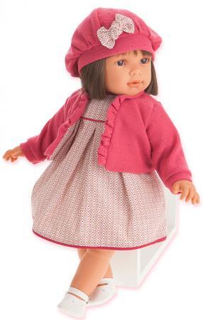 Кукла Munecas Antonio Juan Аделина в красном 55 см 1824R