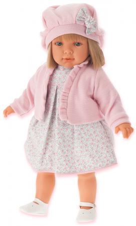 Кукла Munecas Antonio Juan Аделина в розовом 55 см 1823P munecas antonio juan кукла лучия в розовом 37 см munecas antonio juan