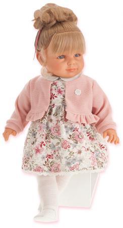 Кукла Munecas Antonio Juan Нина 55 см в розовом 1820P munecas antonio juan кукла лучия в розовом 37 см munecas antonio juan