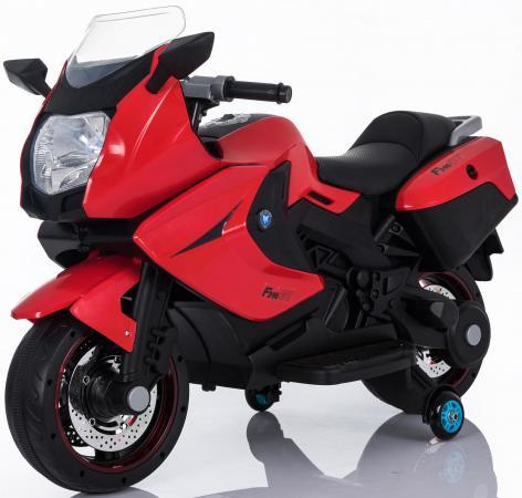 Мотоцикл Kids cars (одноместный электромобиль аккумуляторно-зарядный) KT316 Красный