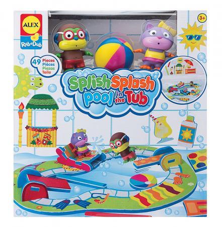 Пластмассовая игрушка для ванны ALEX Пляжная вечеринка 9 см пластмассовая игрушка для ванны alex пляжная вечеринка 9 см