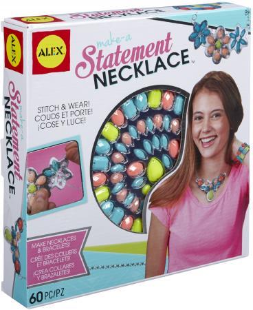 Набор для создания браслетов Alex Statement Necklace 60 шт 611120-3 наборы для создания украшений alex большой набор для плетения браслетов друзья