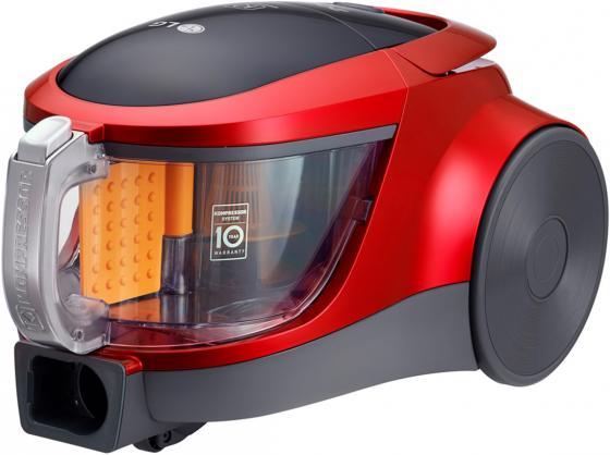 Пылесос LG VK76A09NTCR сухая уборка красный цена и фото