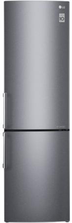 Холодильник LG GA-B499YLCZ серебристый холодильник lg ga b499ylcz двухкамерный нержавеющая сталь