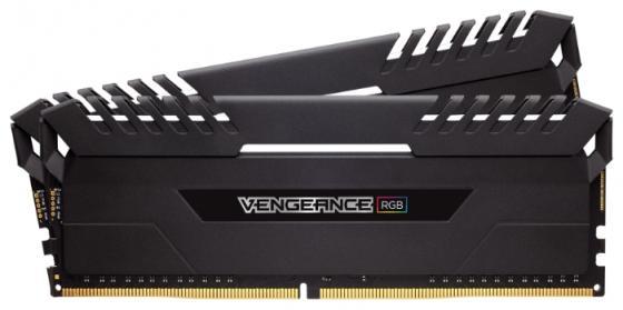 Оперативная память 16Gb (2x8Gb) PC4-21300 2666MHz DDR4 DIMM Corsair CMR16GX4M2A2666C16