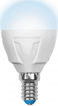 Лампа светодиодная шар Uniel Palazzo Dim Globe E14 6W 4500K (UL-00000692) LED-G45-6W/NW/E14/FR/DIM PLP01WH uniel лампа светодиодная диммируемая uniel e14 6w 4500k свеча матовая led c37 6w nw e14 fr dim plp01wh ul 00000689