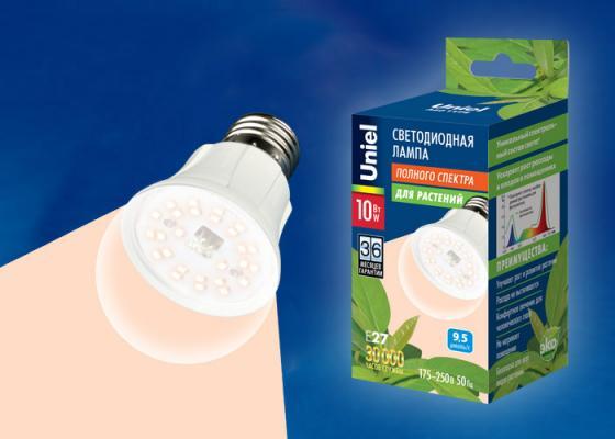 Лампа светодиодная шар Uniel LED-A60-10W/SPFR/E27/CL PLP01WH E27 10W мел centrum школьный 12шт monster high